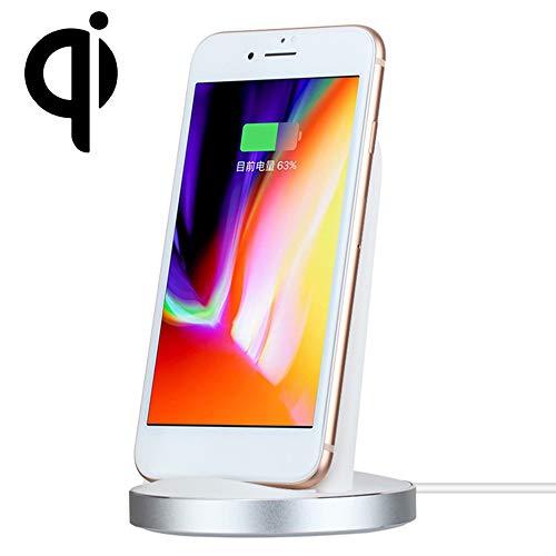 Snelle draadloze oplader, staand, Qi Wireless Dock lader, compatibel met iPhone XS/XS Max/XR/X/8/XR/X/8/S7 rand/Note 8