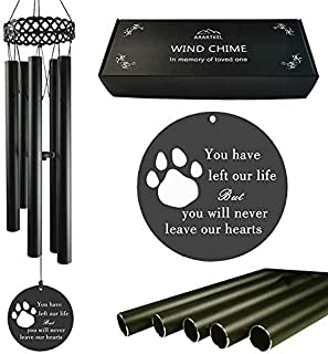 Pet Memorial Wind Chimes,Sympathy and Remembrance Gifts for Pet Owner, The Loss of Dogs or Cats,Windchimes in Memory of Lo...