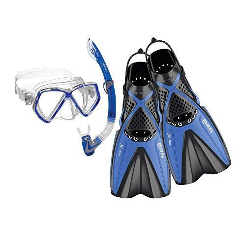 Mares X-One Pirate Schnorchel-Set, Blue, XS