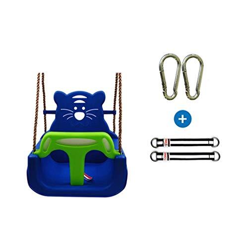 FYRMMD Columpio de Ocio Asiento de Columpio para bebés Bipartito, Columpio para niños con función de Seguridad, Cinturón de Seguridad, Childs Adjus (Asiento de Columpio)