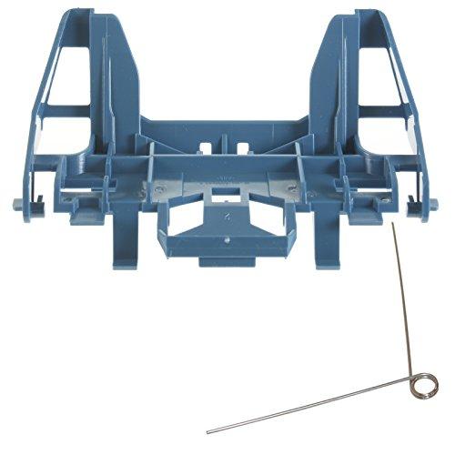 Recambio de soporte y muelle de torsión para aspiradora Miele S5000-S5999, recambio original