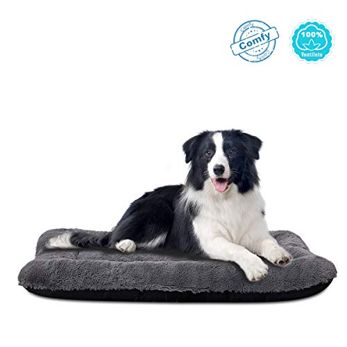 ANWA Dog Bed Medium Size Dogs, Washable Dog Crate Bed Cushion, Dog Crate Pad Large Dogs 36 INCH