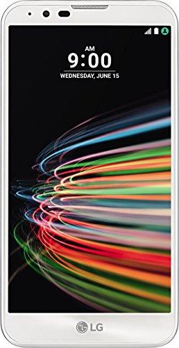 LG Mobile X Mach Smartphone (14 cm (5,5 Zoll) Bildschirm, 12,3 Megapixel Kamera, 32 GB interner Speicher, Android 6.0) weiß