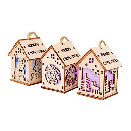 casette legno per addobbi natalizi