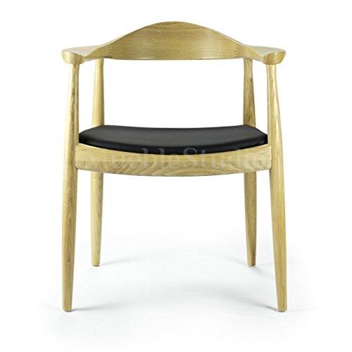mueblespacio Réplica Wegner Round Chair - MSD15204519 - Roble