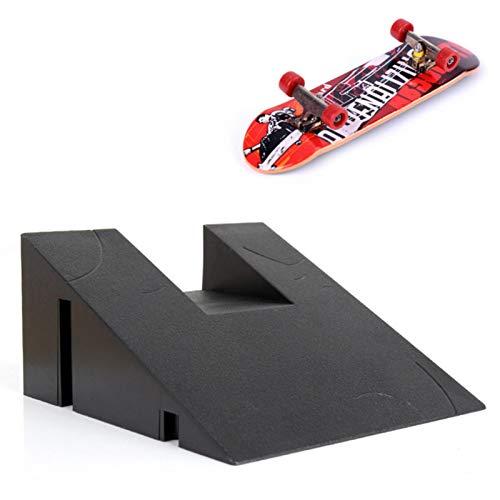 Kit de rampa para monopatín de juguete de dedo, modelo profesional, con 1 dedo, rampa para monopatín, parques, accesorios de entrenamiento