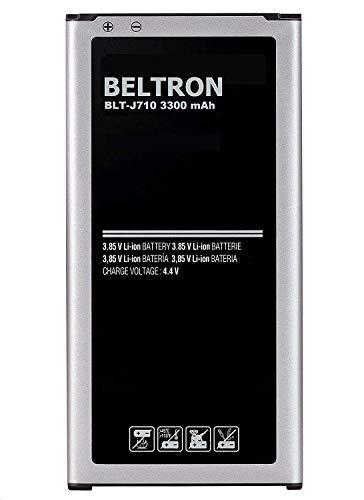 New 3300 mAh BELTRON Replacement Battery for Samsung J7 (2017), J7 Perx, J7 Sky Pro, J710, J727 - EB-BJ710