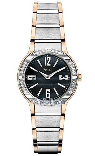 Piaget da donna 32mm bracciale in oro bianco Swiss orologio al quarzo...