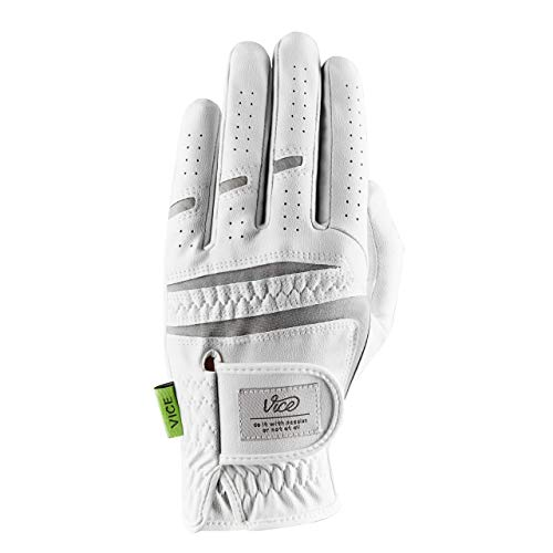 Golf-Handschuh Vice Duro, VICEDURO-ML, weiß, Medium - Large