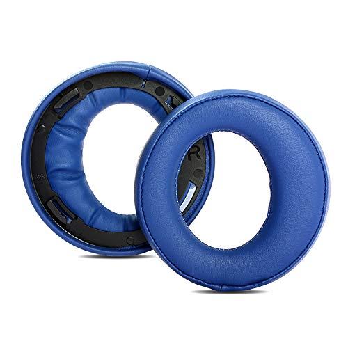 1 Paar Ohrpolster, Ersatz-Ohrpolster aus Schaumstoff Kompatibel mit Sony Gold Wireless Headset PS3 PS4 7.1 Virtual Surround Sound CECHYA-0083 Kopfhörer, Blau