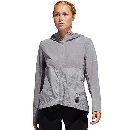 adidas Damen Own The Run Jacke, Grethr, S