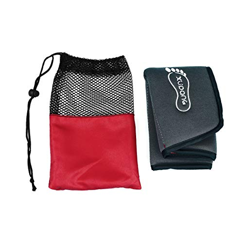 LIOOBO Mini Sitzmatte Outdoor Klapp Sitzkissen PU Leder wasserdichte Strand Picknick Pad (Grau)