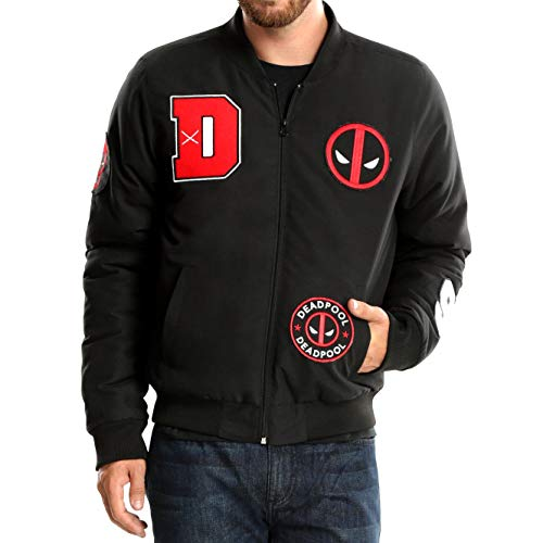 Deadpool Bomber Jacket - Large