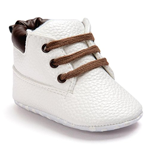 Kuner Baby Boys Brown Warm Snow Short Boots First Walkers Shoes 0-18 Months