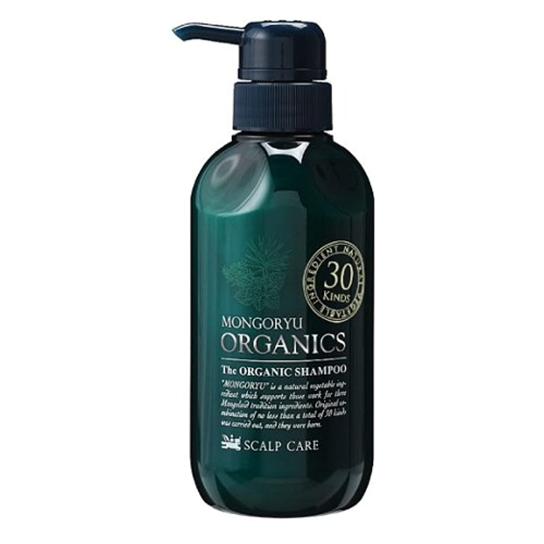 咳全部ラブモンゴ流 シャンプー 薬用 オーガニクス 320ml 医薬部外品 スカルプケア オーガニックハーブの香り