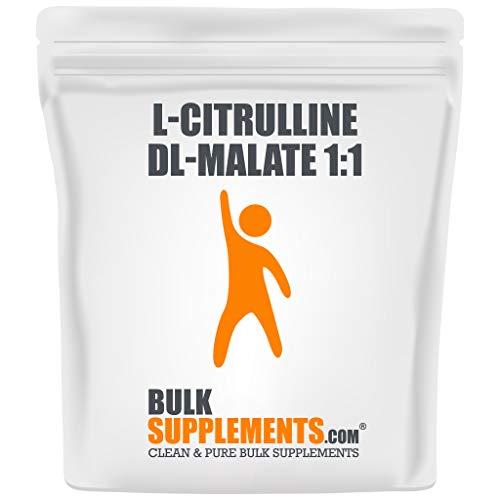 BulkSupplements.com L-Citrulline DL-Malate 1:1 Powder - Unflavored Pre Workout - BCAAS Unflavored - Citrulline Powder (1 Kilogram)