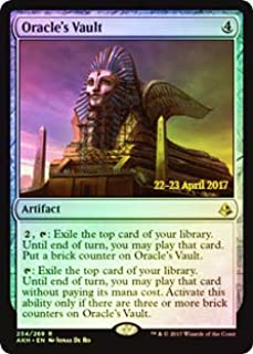 Magic: The Gathering - Oracle's Vault - Foil - Prerelease Promo