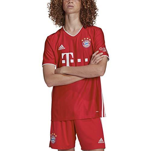 Adidas Mens Fc Bayern Munich Home Soccer Jersey Truered M