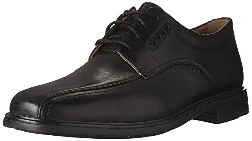Clarks Men's Unkenneth Way Oxford, Black Leather, 11 W US