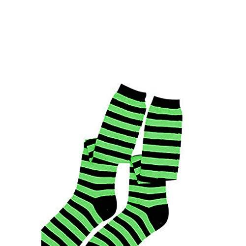 Dress up America Calcetines Verdes / Blancos de los Cabritos Disfraces Disfraces Accesorios
