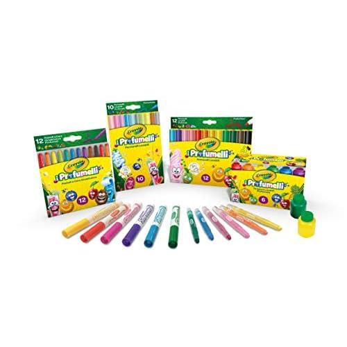 CRAYOLA-i Profumelli Set Convenienza, per Disegnare con Colori Profumati, Multicolore, 7455