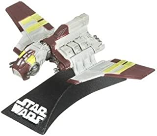 REPUBLIC ATTACK SHUTTLE Star Wars Expanded Universe The Clone Wars 3 INCH Titanium Series Die Cast Vehicle