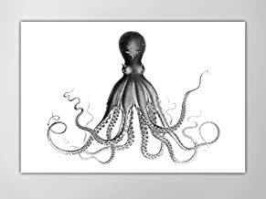 Octopus Poster, Octopus Art Print, Lord Bodner's Octopus, Octopus Art Print, Nautical Art Octopus, Giant Octopus Poster, Nautical Art Print