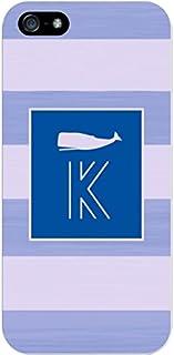 IPH5 CASE Stripes, Blue Whale- K