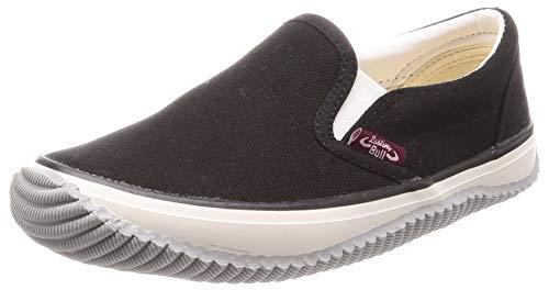 [福山ゴム] カジュアル作業靴 ラスティングブル レディース ブラック 24.5 cm 3E