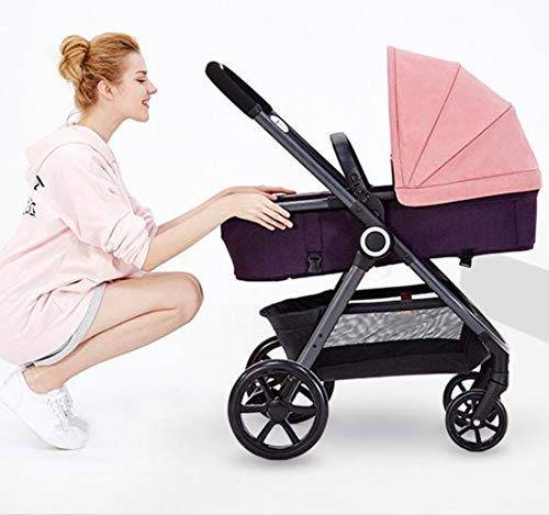 Find Bargain Baby cart Free Installation Easy to Open Quick Folding Modular Travel System Portable S...
