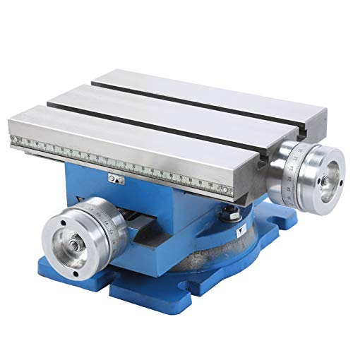 for Drill Stands and Milling Stands, Rotatable Milling Machine Compound Drilling Slide Table, Industrial Hardware Hand Tools, Milling Accessories