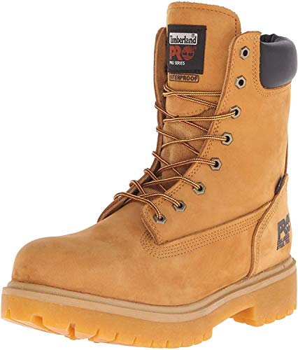 "Timberland PRO Men's Direct Attach 8"" Steel Toe Boot,Wheat,10 M"