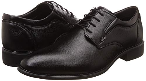 Lee Cooper Lc1473e black Leather Formal Shoes for Men