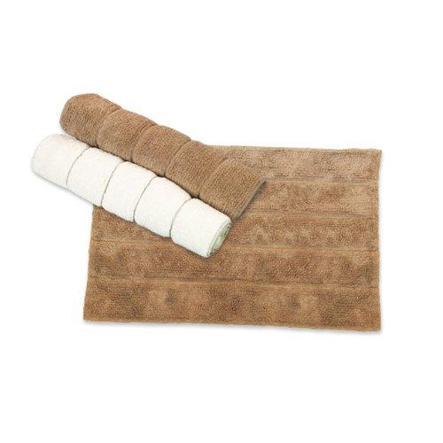 MAURER Tappeto bagno in cotone colore avorio cm 50x70 Maurer