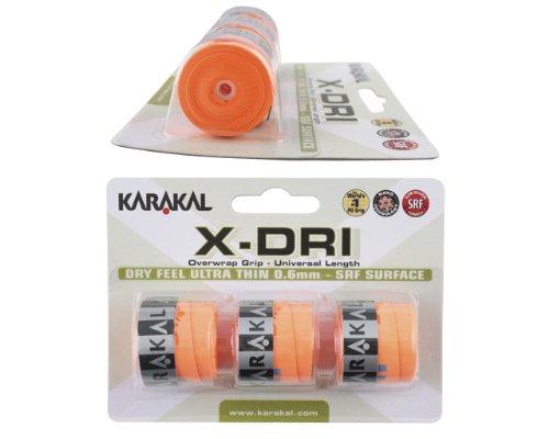 Karakal x-dri Sobregrip para Raquetas–Tenis–Squash–Raqueta de bádminton
