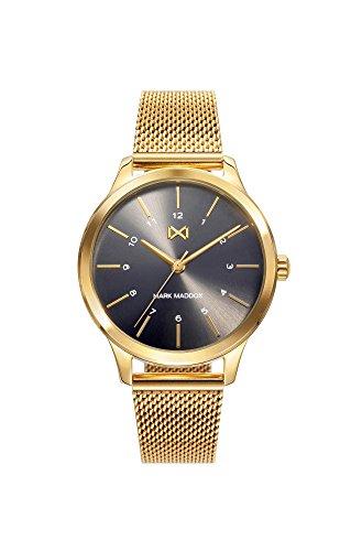 Mark Maddox dames analoog kwarts smartwatch polshorloge met roestvrij stalen armband MM7106-57