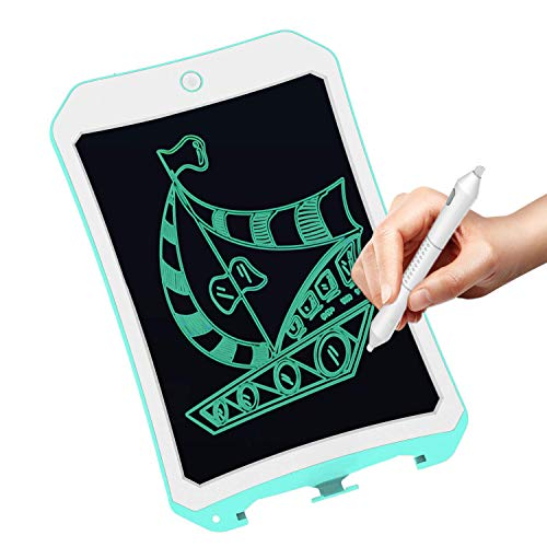 VNVDFLM 8.5 Inch Electronic Drawing Pads for Kids, Portable Reusable Erasable Writer, Elder Message Board,4-8 Years Old Boys for Digital Handwriting Pad Doodle Board for School(DS-Green)