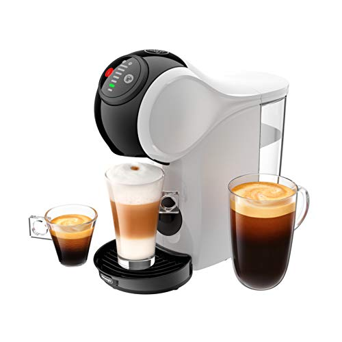 41bN5lhLEEL. SS500  - De'Longhi Dolce Gusto EDG225.W Genio S Pod Coffee Machine, compact design, adjustable drink size, 0,8L removable water…