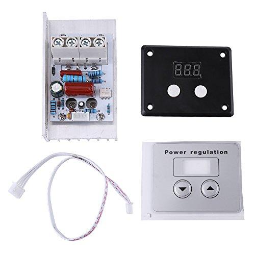 10000W SCR Regulador de Voltaje Digital Mdulo de Controlador de SCR AC 220V 80A