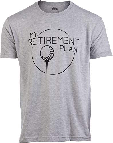 My Golf Retirement Plan Funny Saying Golfing Shirt Golfer Ball Humor for Men T Shirt Adult XL product image