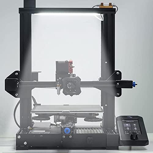 UniTak3D Luce LED per Stampante 3D Incorporata Aggiornamento Della Barra Luminosa a 24 V Kit per Creality Ender 3 V2 Ender 3 Pro Ender 3 2020 Profilo