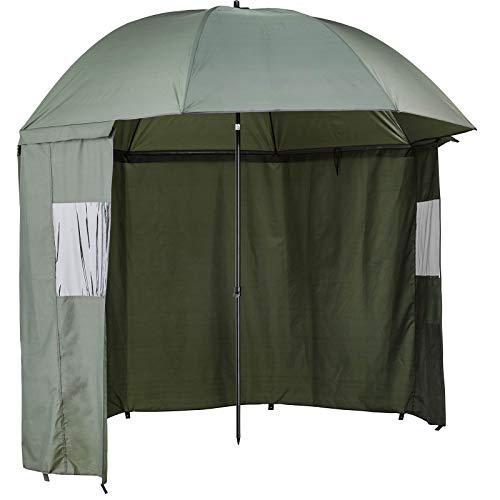 Cormoran Schirmzelt Zelt Angeln Schirm - Deluxe 2,5m Bogenspannweite