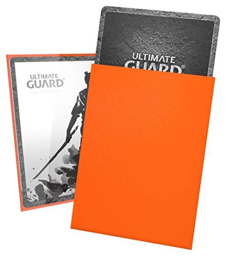 Ultimate Guard- Fundas para Tarjetas, Color Naranja (UGD010898)