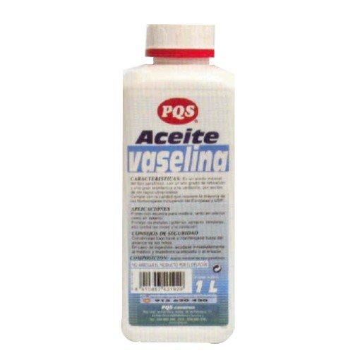 Aceite de vaselina PQS. Botella 1 Lt