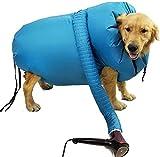 Ruisy Bolsa seca para mascotas, secador de mascotas, bolsa portátil para mascotas, bolsa de burbujas plegable (L)