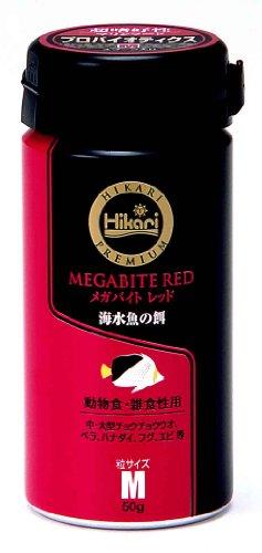 ヒカリ (Hikari) ひかりプレミアム メガバイトレッドM 50g レッド M