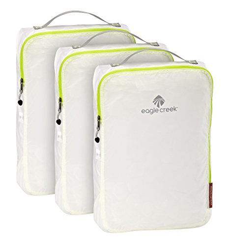 Eagle Creek Pack-It Specter Full Cube Set, White/Strobe, Set of 3 (M)