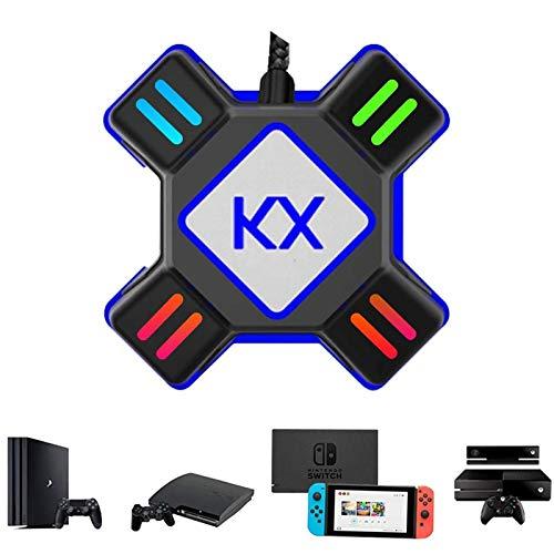 GZW-Shop Convertidor de Teclado y ratón, Adaptador KX de Controlador de Mando...