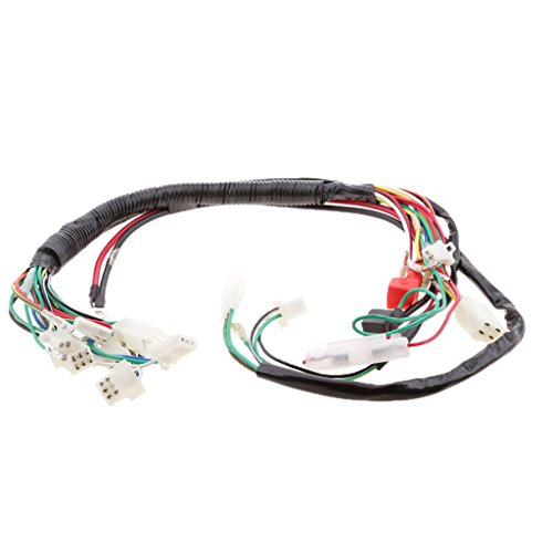 MagiDeal 1 Stück Elektrischer Kabelbaumsatz Für 110cc 125ccm 250cc Bike ATV Quad