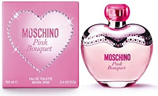 Moschino Pink Bouquet Perfume For Women 3.4 oz Eau de Toilette Spray Sealed